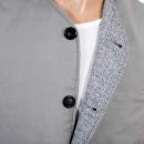 RMC JEANS Light Blue Vintage Cut Regular Fit Lightly Padded Waistcoat