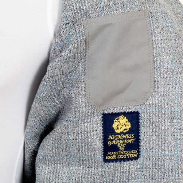 RMC JEANS Light Blue Vintage Cut Regular Fit Lightly Padded Waistcoat