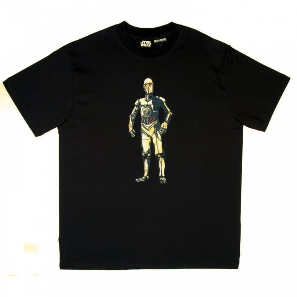 RMC JEANS Limited Edition Collectors Item Black Short Sleeve Regular Fit Star Wars T-Shirt