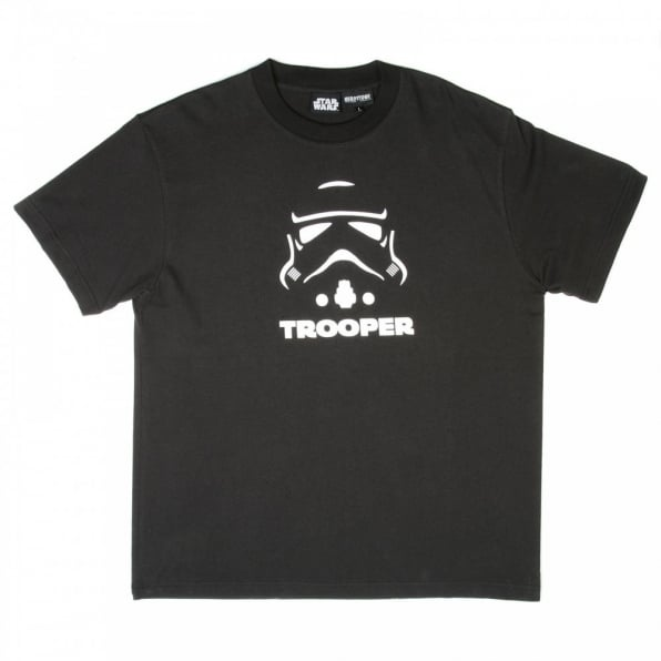 RMC JEANS Limited Edition Collectors Item Star Wars Black Crew Neck Regular Fit T-Shirt