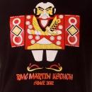 RMC JEANS Mens Black Crew Neck Regular Fit Short Sleeve T-shirt