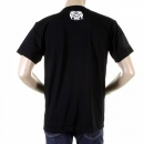 RMC JEANS Mens Black Crew Neck Short Sleeve Regular Fit T-Shirt
