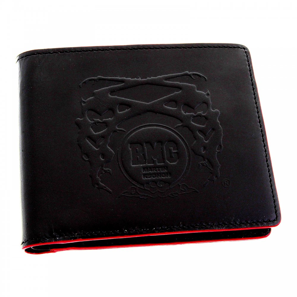 Buy Genuine Red Monkey Wallet With Red Accents At Niro Fashion