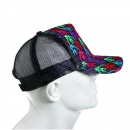 RMC JEANS Mens black mesh with 5 colour combo embroidered cap
