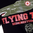 RMC JEANS Mens Black Regular Fit Crew Neck Short Sleeve T-shirt