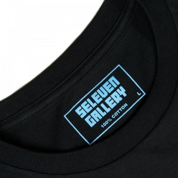 RMC JEANS Mens black short sleeve regular fit crew neck t-shirt