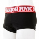 RMC JEANS Mens Black Stretch Cotton Trunks