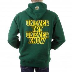 Mens Bottle Green Overhead Large Fitting Sweatshirt
