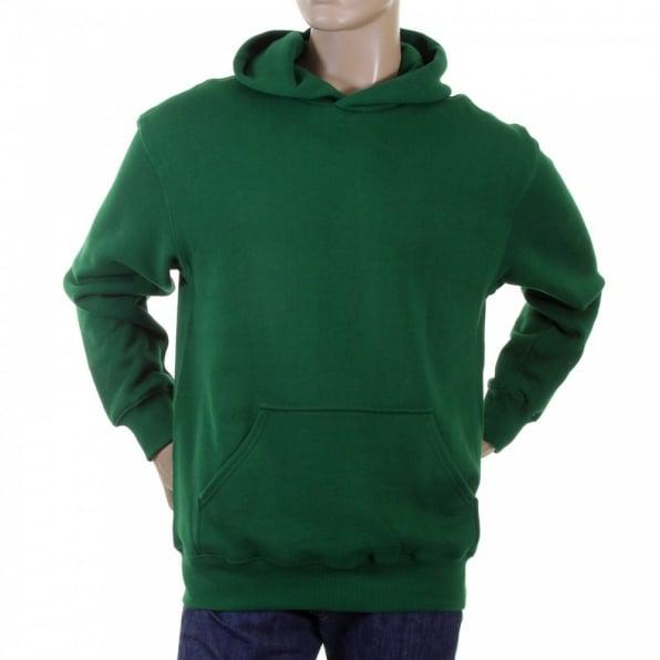 RMC JEANS Mens Bottle Green Overhead Large Fitting Sweatshirt