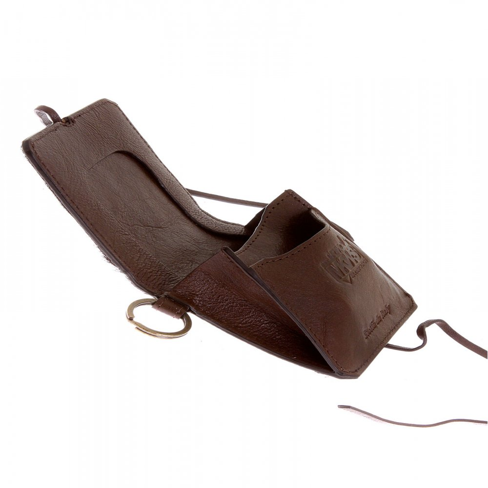 Leather Horse Shoe Pouch