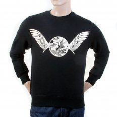 Mens Crew Neck Large Fitting Sweat Shirt
