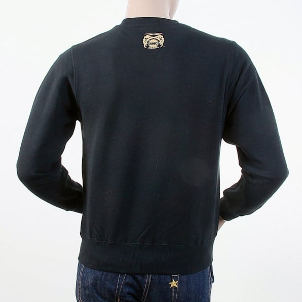 RMC JEANS Mens Crew Neck Large Fitting Sweat Shirt