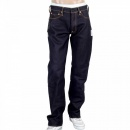 RMC JEANS Mens Dark indigo Japan selvedge raw denim jean