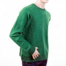 RMC JEANS Mens Emerald Green Large Fitting Crew Neck Sweatshirt