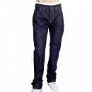 RMC JEANS Mens Indigo Japanese Selvedge Denim Jean with Embroidered Toyo Tsunami