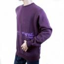 RMC JEANS Mens Purple Large Fitting Crew Neck Sweatshirt