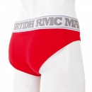 RMC JEANS Mens Stretch Cotton Briefs in Red