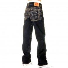 Mens Super Exclusive Design Dark Indigo Raw Denim Jeans