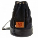 RMC JEANS Mens/Unisex Denim with Leather Duffle Bag