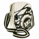 RMC JEANS Mens Unisex Ivory PVC Coated Canvas Despatch Bag
