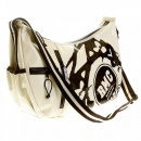 RMC JEANS Mens Unisex Ivory Shoulder Cyclist Fashion Bag