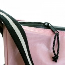 RMC JEANS Mens Unisex Light Pink Shoulder Cyclist Fashion Bag