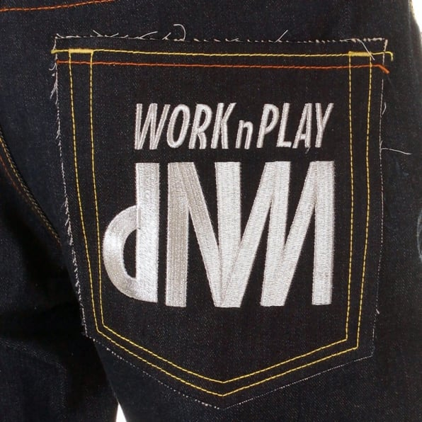 RMC JEANS Mens Vintage Cut House Selvedge Raw Denim Jeans