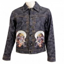 RMC JEANS Mens Vintage Cut Raw Selvedge Denim Jacket
