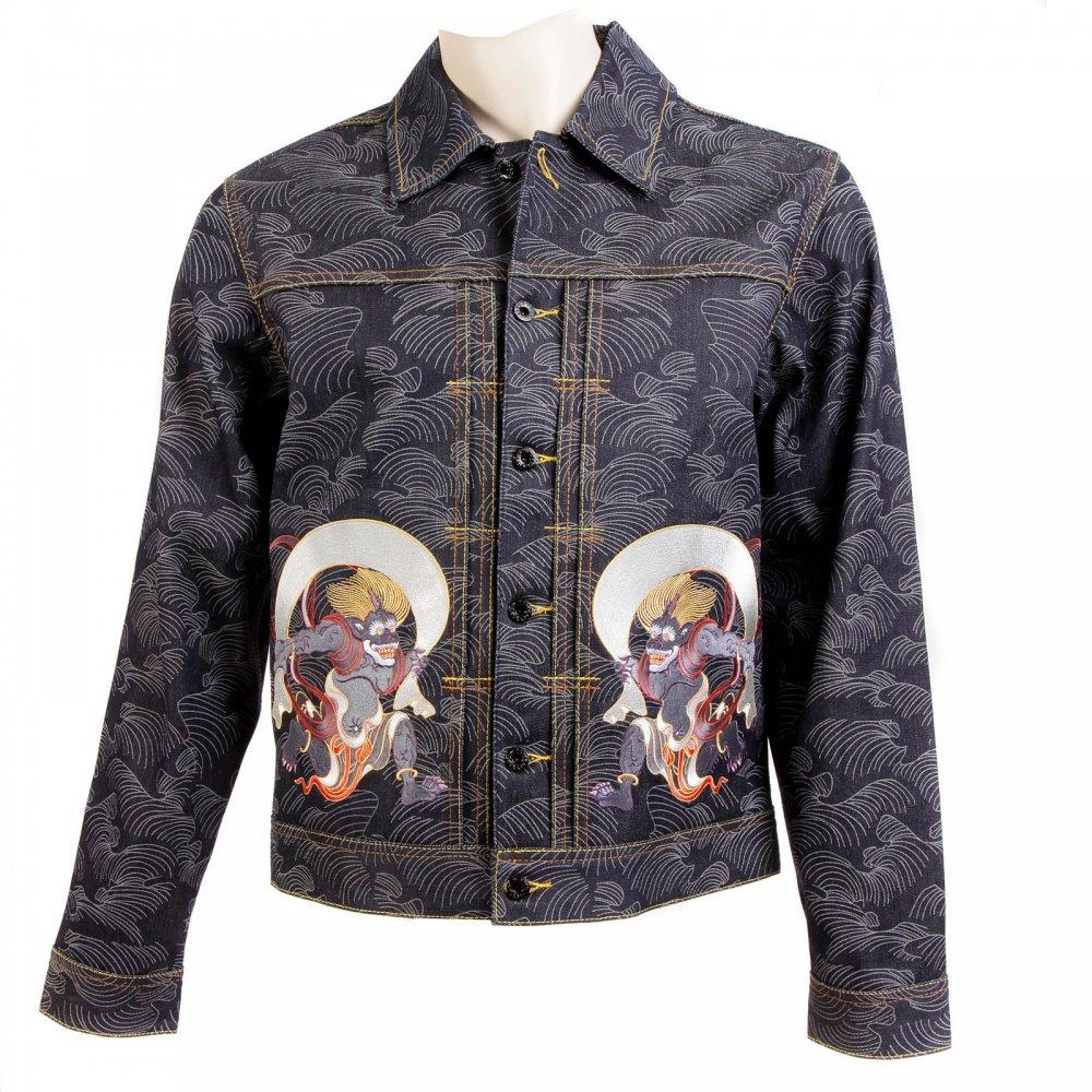 Buy Fujiu And Raijin Embroidered Rmc Jacket For A Stylish