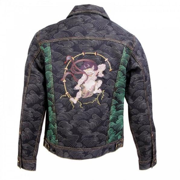 RMC JEANS Mens Vintage Cut Raw Selvedge Denim Jacket