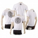 RMC JEANS Mens White Cyber Monkey Crew Neck Regular Fit T-shirt
