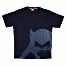 RMC JEANS Navy Blue Regular Fit Crew Neck T-Shirt with Brand Monkey Head Print