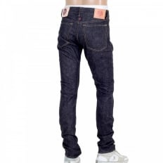 Original Red Indigo Selvedge Slim Cut Denim Jeans