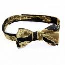 RMC JEANS Rare Vintage Tiger Tea Camo Cotton Bow Tie for Men