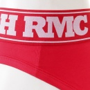 RMC JEANS Red Stretch Cotton Briefs for Men