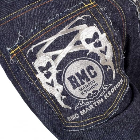 RMC JEANS Regular Classic Slim Model Japanese Selvedge Raw Denim