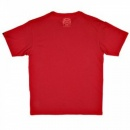 RMC JEANS Regular Fit Crew Neck T-Shirt in Red with Brand Monkey Head Print