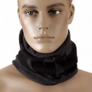 RMC JEANS Reversible Head Warmer - Charcoal grey neck warmer snood