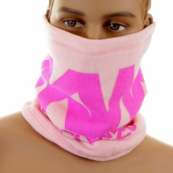 RMC JEANS Reversible Head Warmer - Light pink neck warmer snood