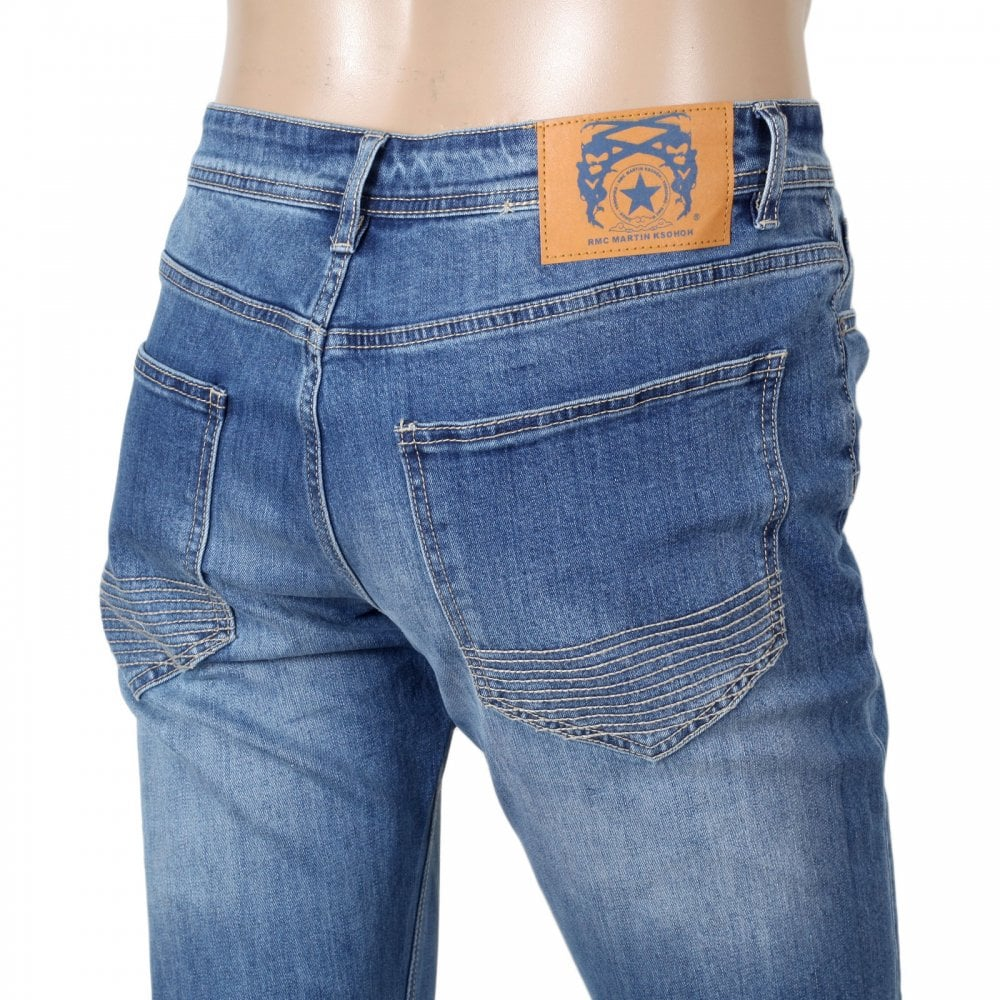 RMC stretch cotton mix denim jeans