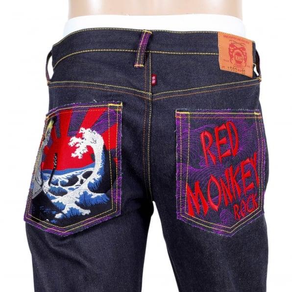 RMC JEANS Rock Vintage Cut Selvedge Raw Denim Jean