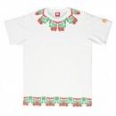 RMC JEANS Samurai White Cotton Crew Neck Regular Fit T-Shirt for Men