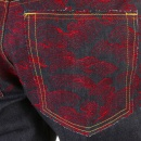 RMC JEANS Scarlet vintage cut design dark indigo raw denim jeans
