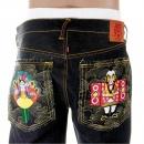 RMC JEANS Selvedge Dark Indigo Raw Denim Jeans with Exclusive Design