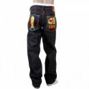 RMC JEANS Selvedge Vintage Cut Dark Indigo Raw Denim Jeans for Men