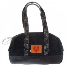 Shop for Mens/Unisex Denim with Leather Hand Held Bag