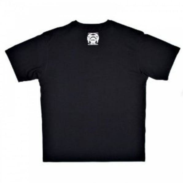 RMC JEANS Short Sleeve Black Crew Neck T-Shirt with Brand School Crest