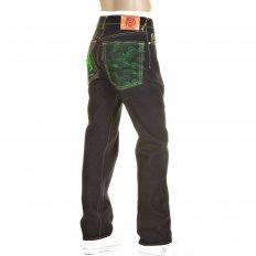 Slimmer Cut Super Exclusive Design Dark Indigo Raw Denim Jean
