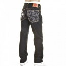 RMC JEANS Slimmer Cut Super Exclusive Design Dark Indigo Raw Denim Jeans