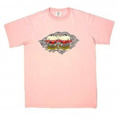 Sumo Pink Crew Neck Short Sleeve Regular Fit T-Shirt